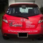 company logo vehicle graphics