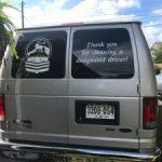 cut vinyl lettering for vehicle