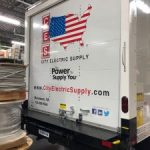 cut and printed vinyl decals for box truck